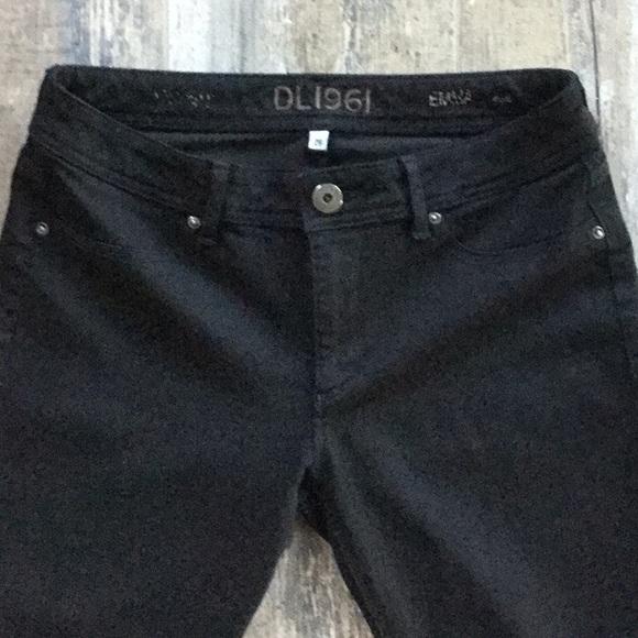 DL1961 Denim - DL1961 Black Emma Legging Riker Jeans